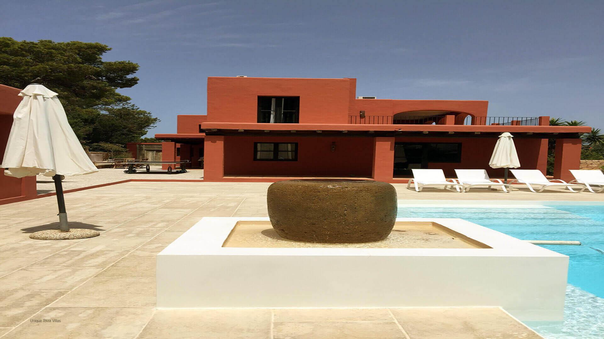 Casa Roja Ibiza 6 Cala Vadella