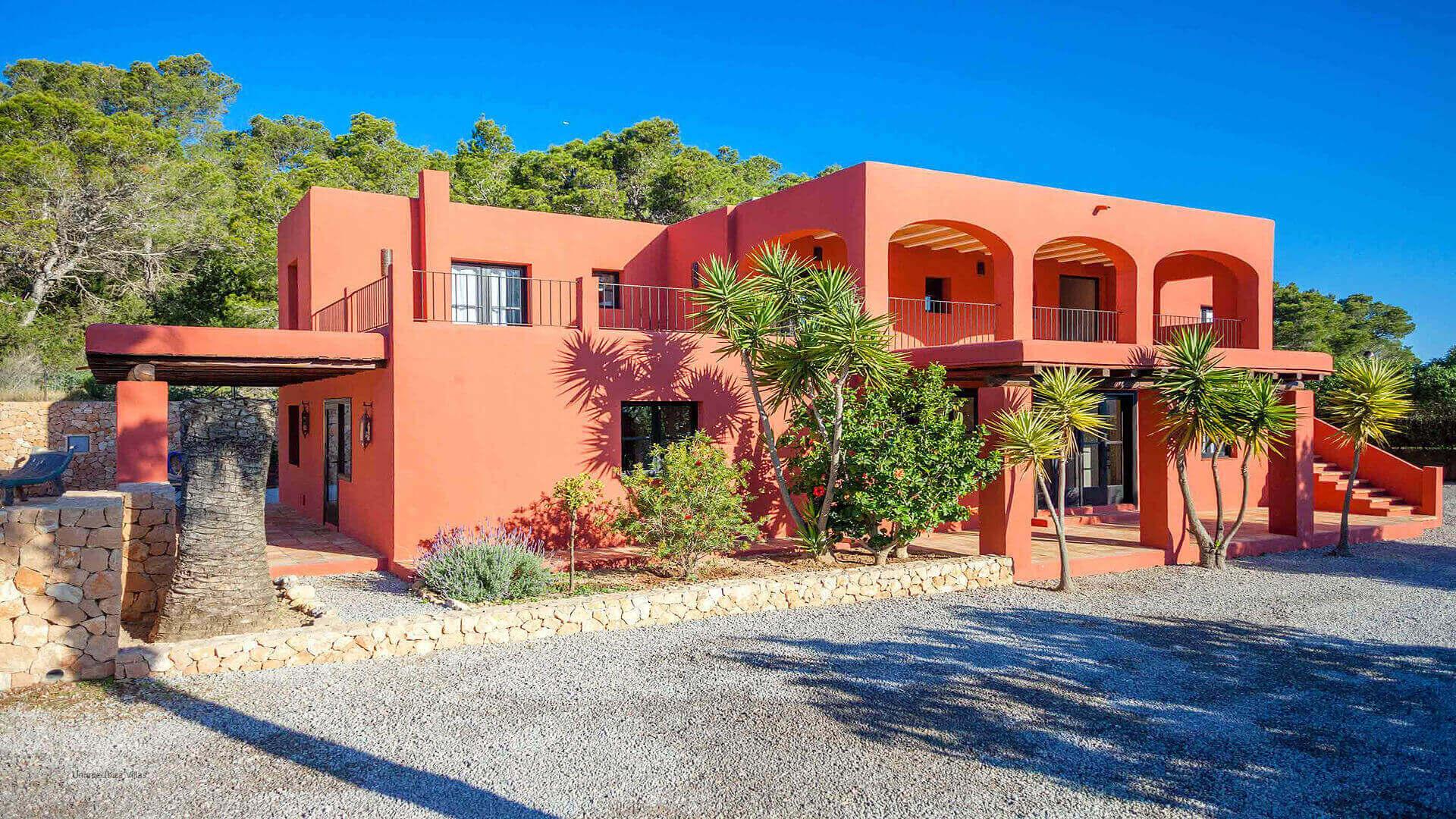 Casa Roja Ibiza 13 Cala Vadella