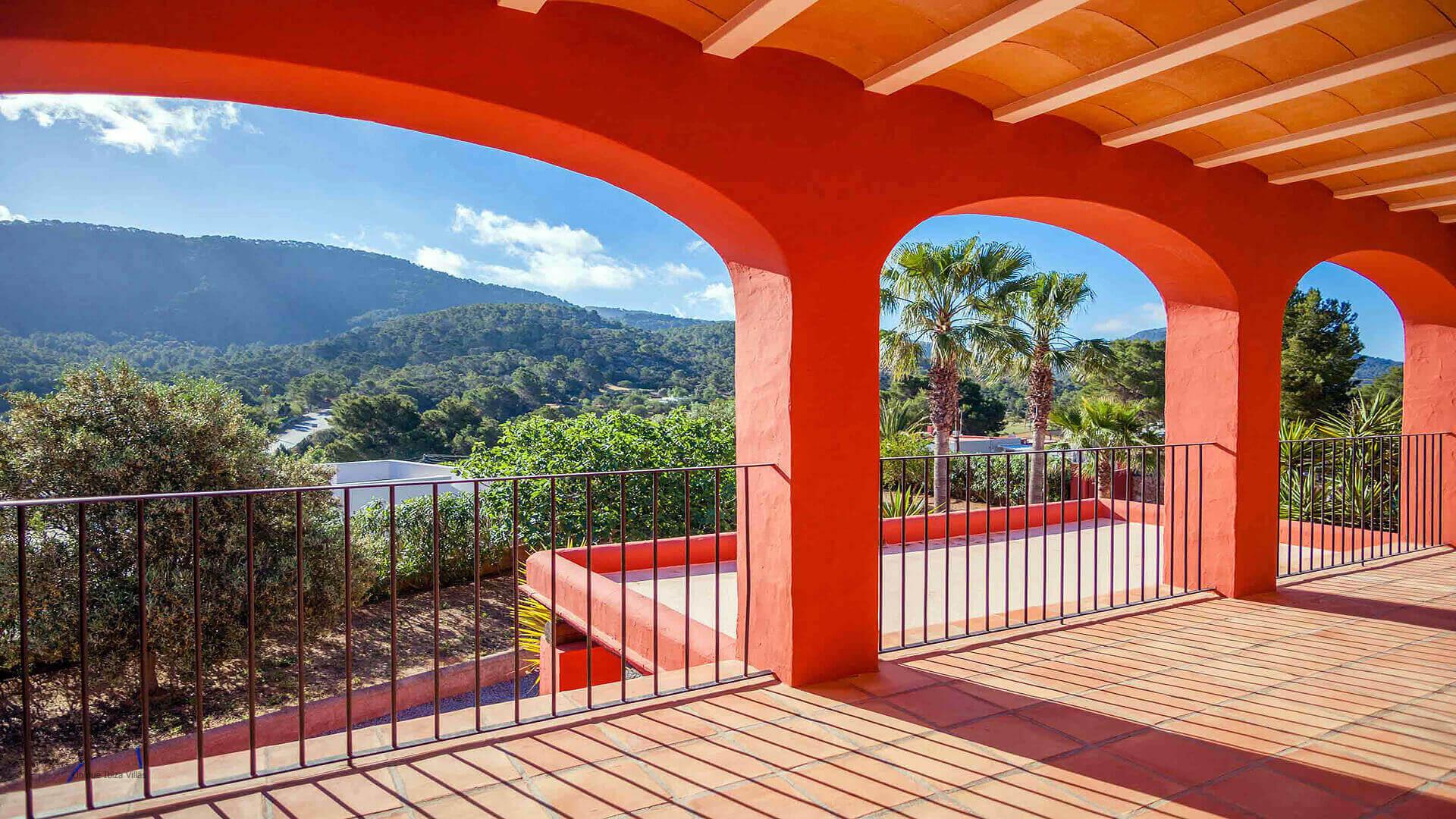 Casa Roja Ibiza 30 First Floor Terrace