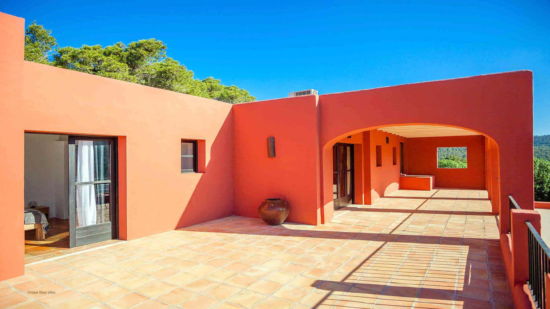 Casa Roja Ibiza 31 First Floor Terrace