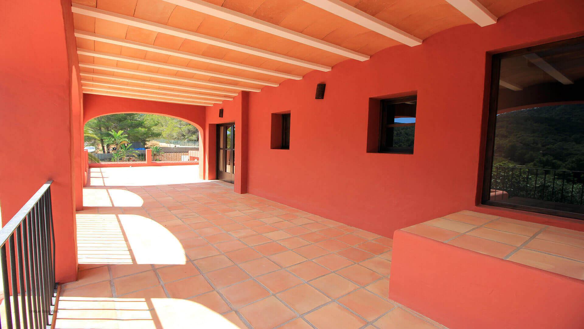 Casa Roja Ibiza 32 First Floor Terrace