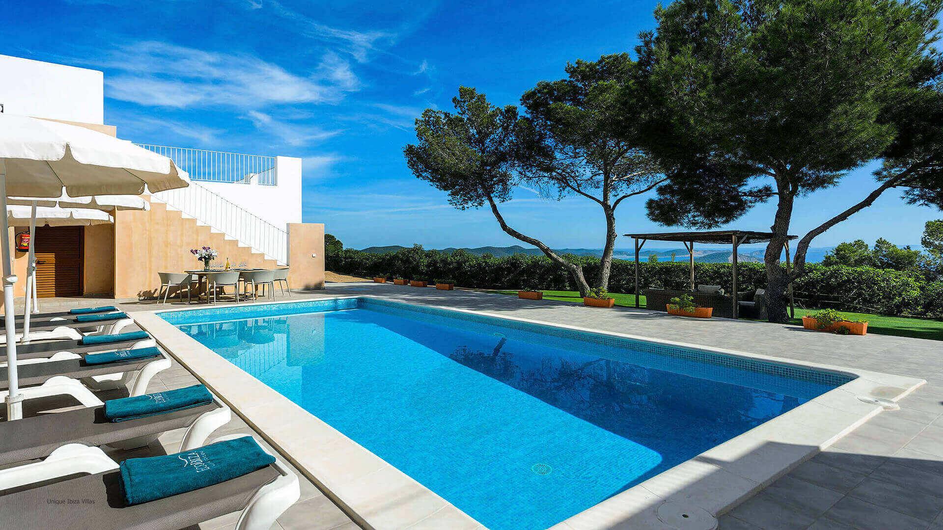 Villa Skyline Ibiza 3 Near Es Cubells