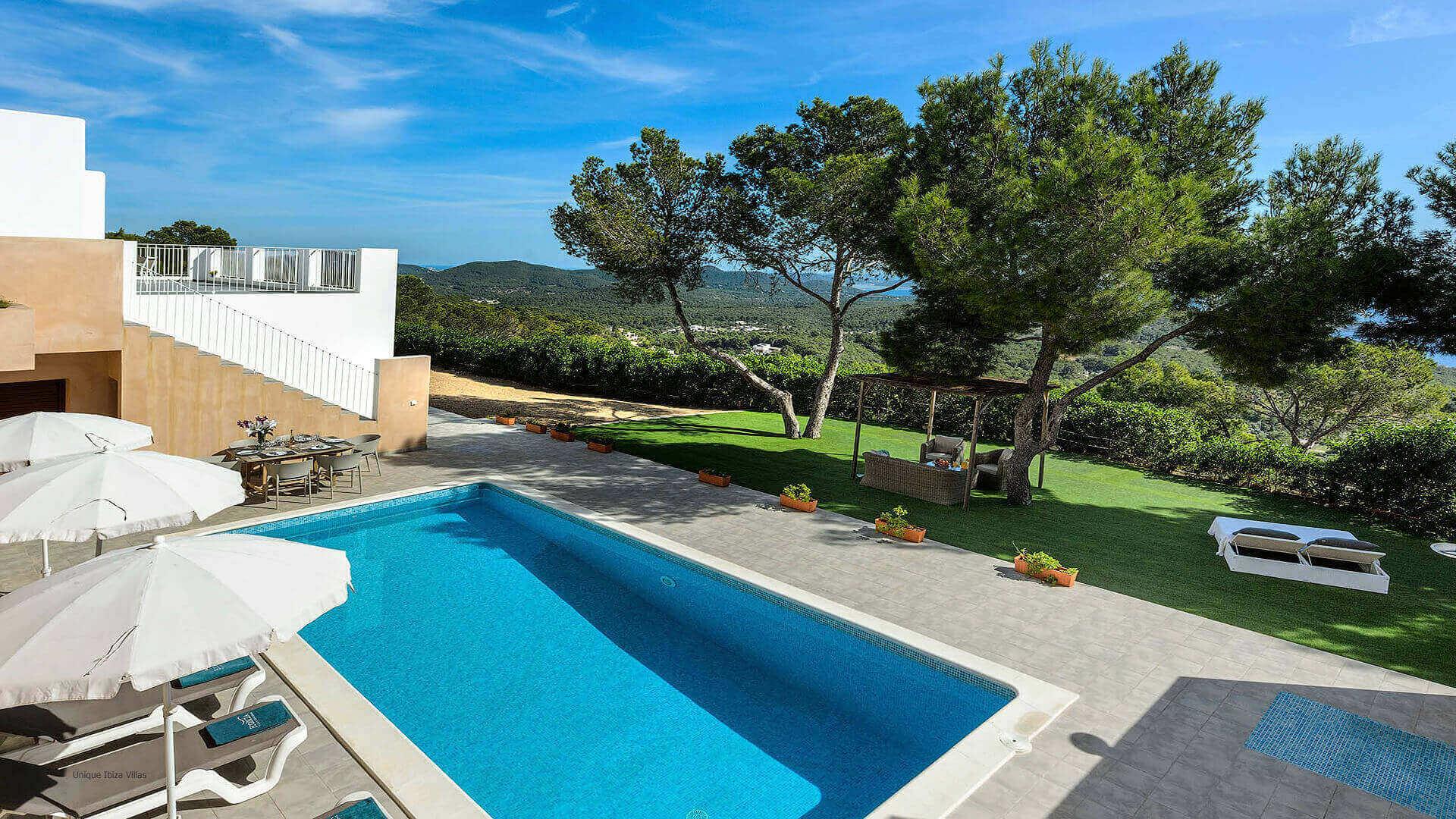 Villa Skyline Ibiza 4 Near Es Cubells