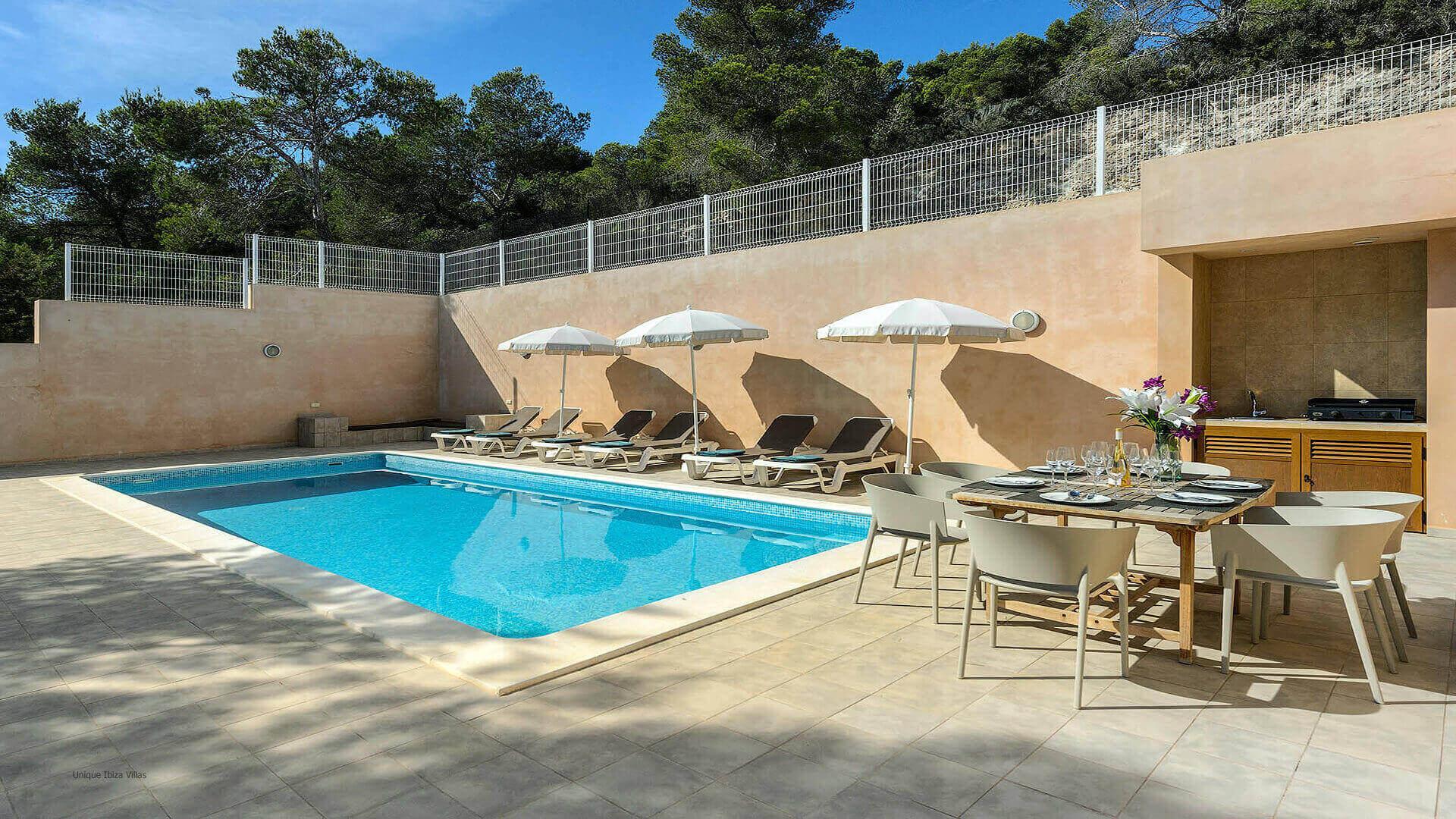Villa Skyline Ibiza 5 Near Es Cubells