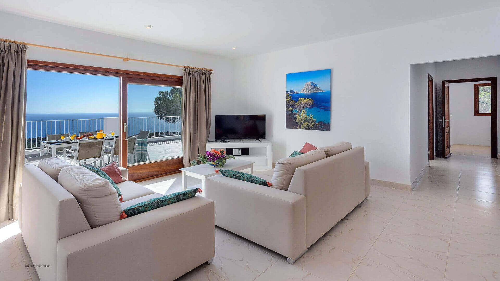 Villa Skyline Ibiza 25 Near Es Cubells