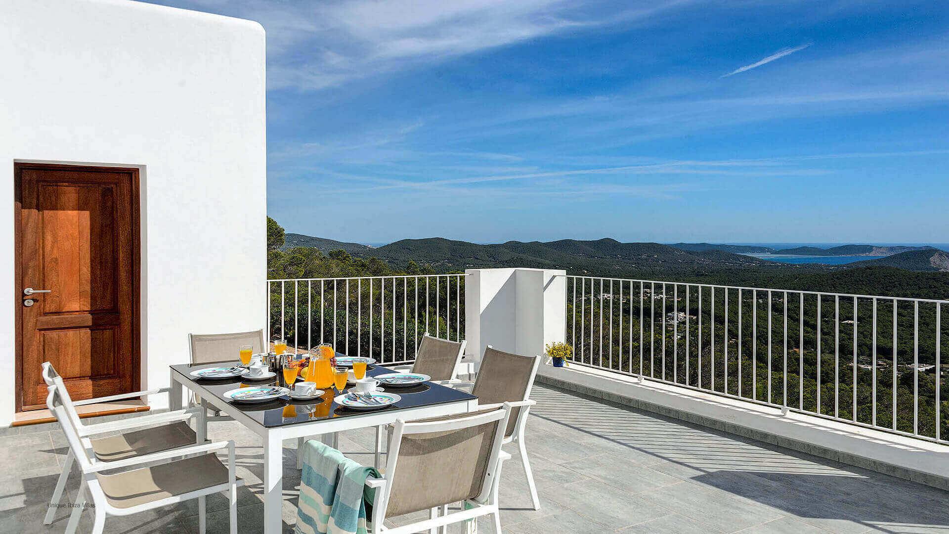 Villa Skyline Ibiza 33 Bedroom 1 Terrace