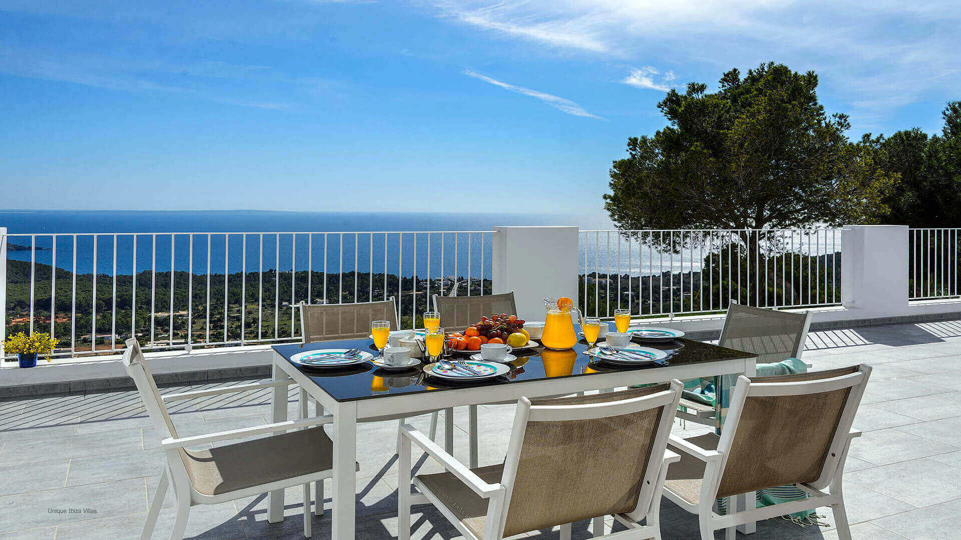 Villa Skyline Ibiza 34 Bedroom 1 Terrace