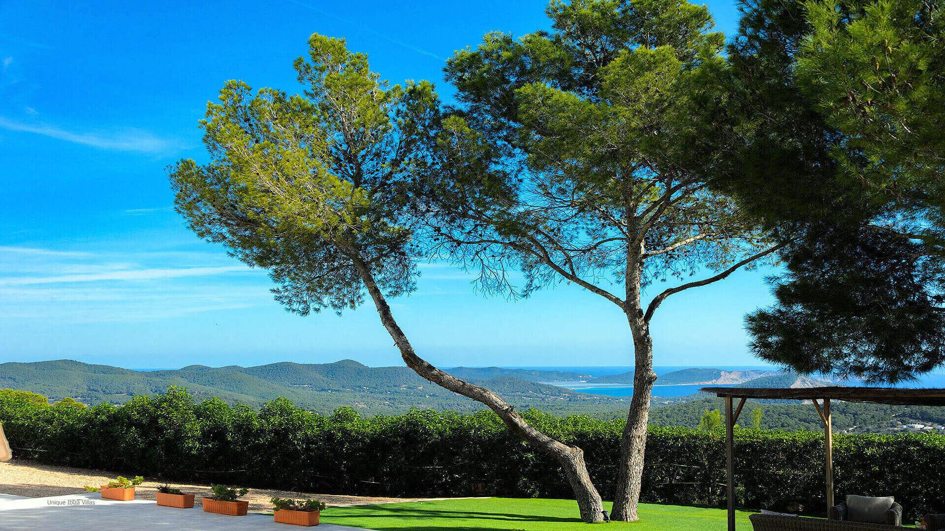 Villa Skyline Ibiza 9 Near Es Cubells