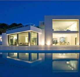 VILLA SA CLARO - (sleeps 12+ - Luxury villa - Private pool - Sea & sunset views - near San Antonio - west Ibiza - 6 bedrooms)