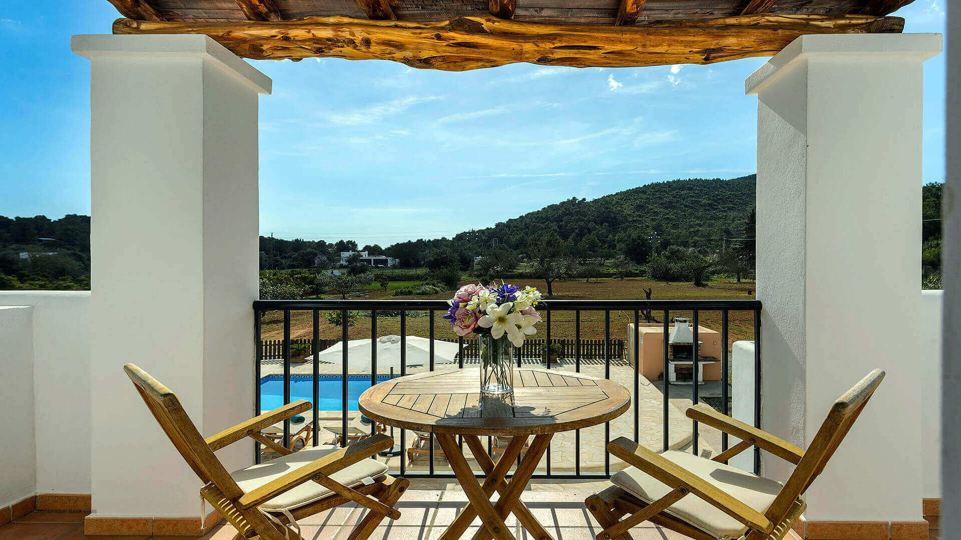 Villa Los Naranjos Ibiza 26 First Floor Terrace