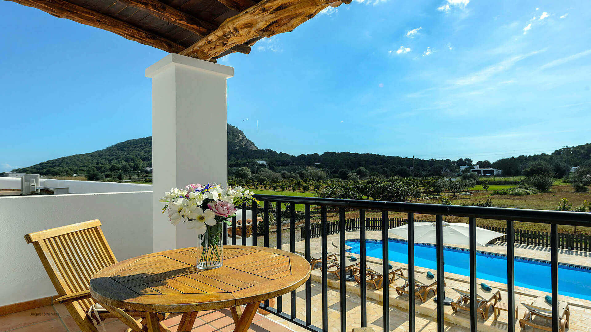 Villa Los Naranjos Ibiza 27 First Floor Terrace