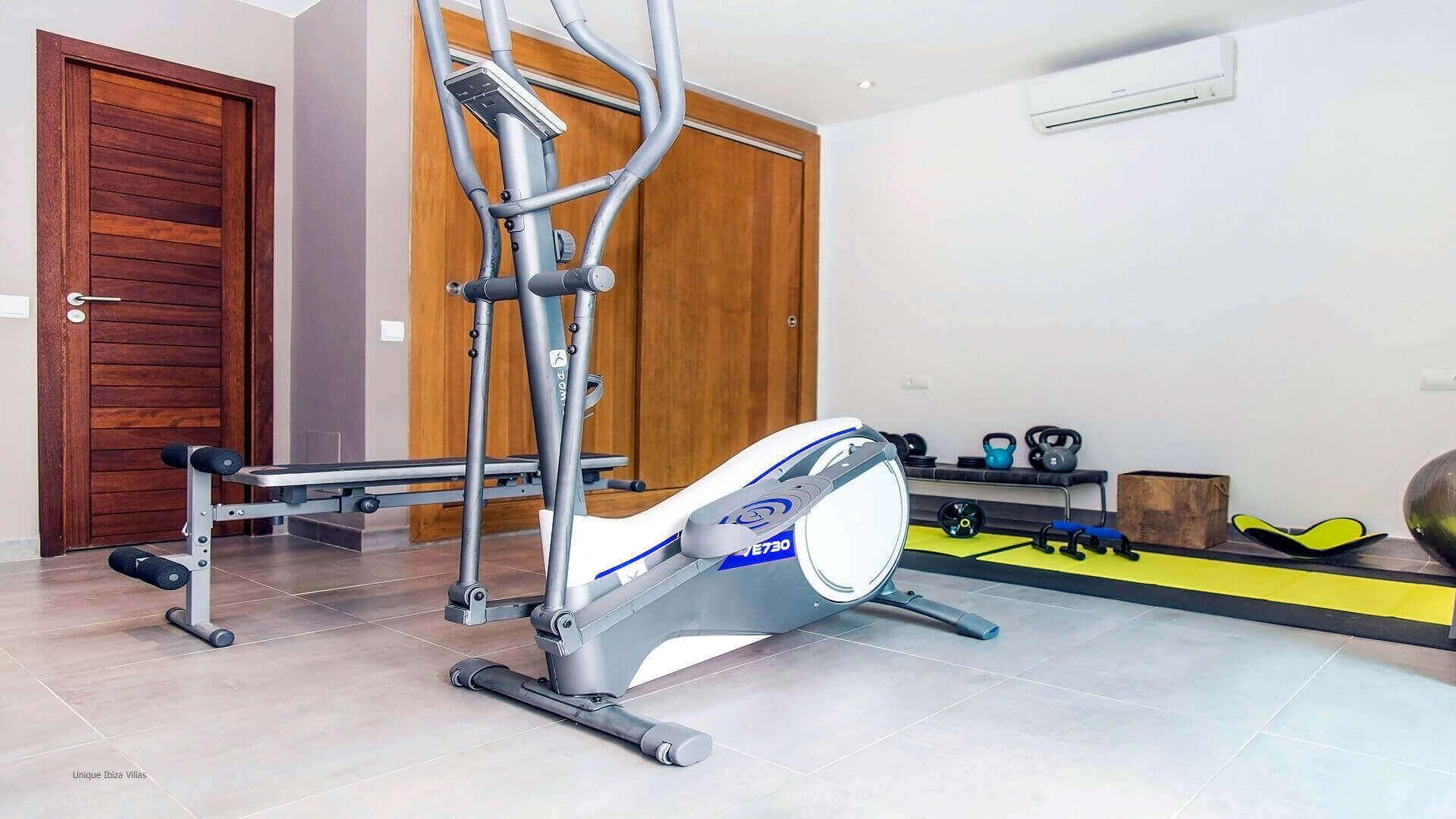 Casa India Ibiza 24 Gym