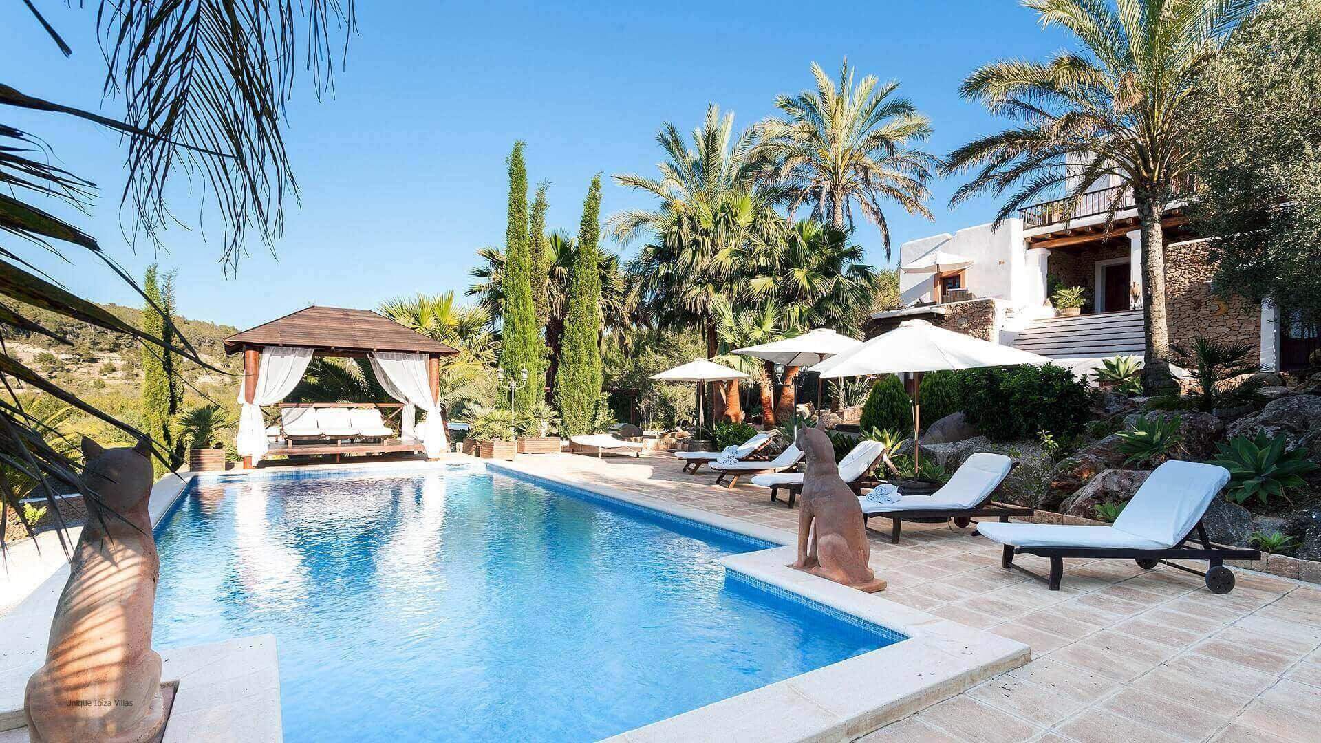 Villa San Lorenzo Ibiza 6 Rural Near San Carlos