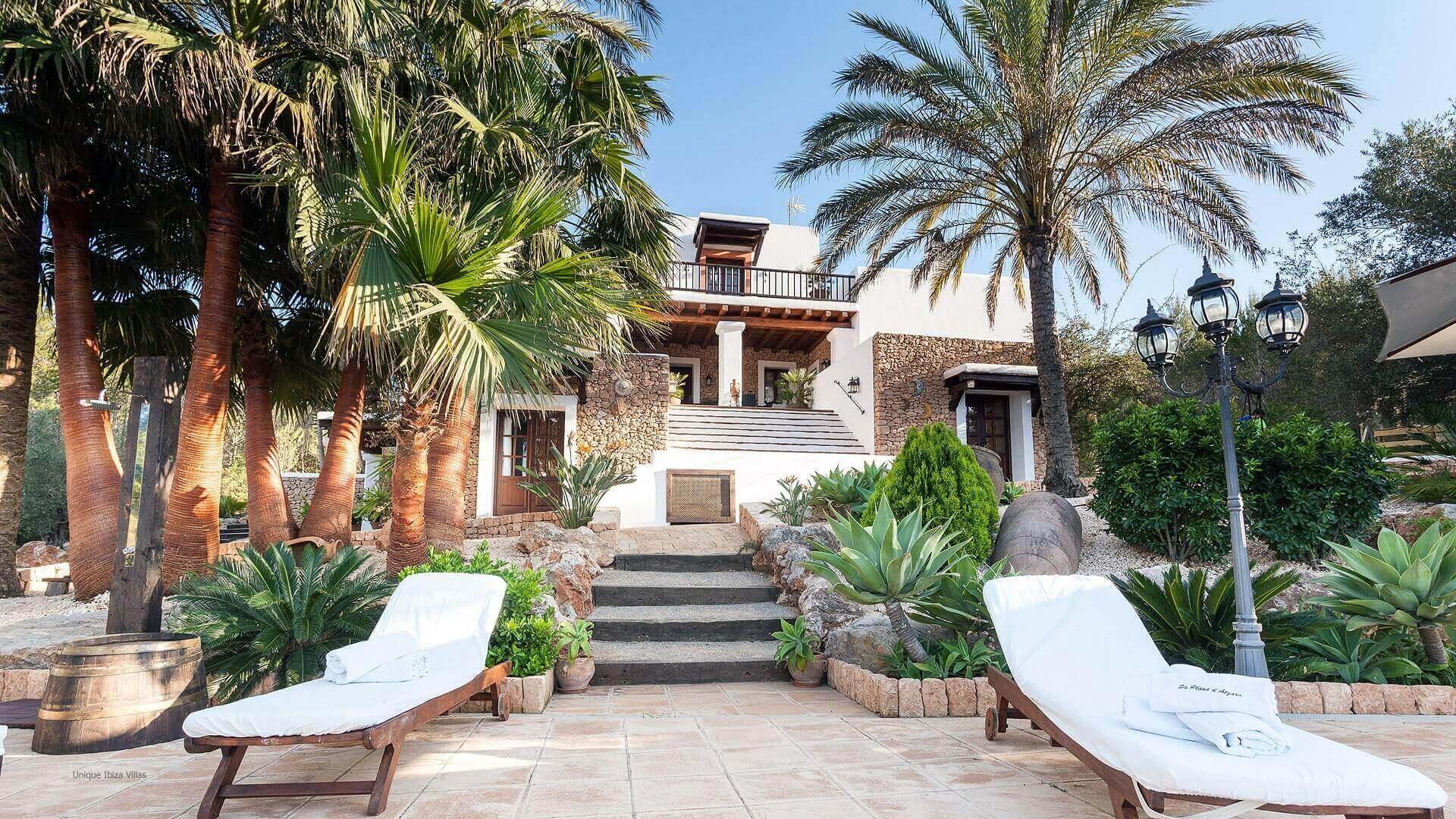 Villa San Lorenzo Ibiza 9 Rural Near San Carlos