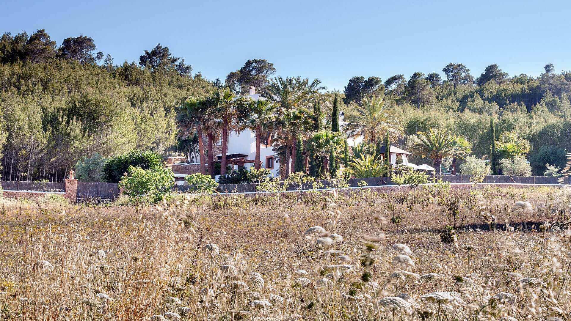 Villa San Lorenzo Ibiza 12 Rural Near San Carlos
