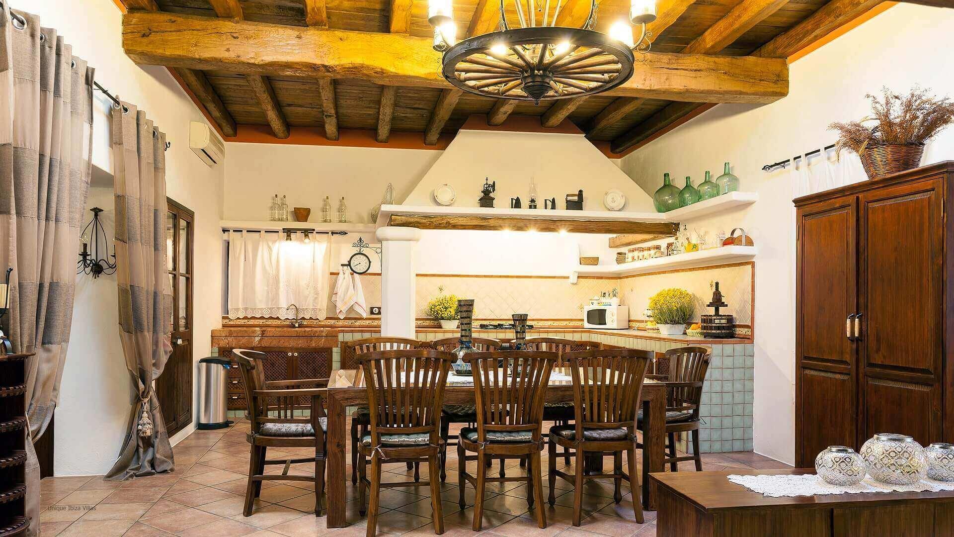 Villa San Lorenzo Ibiza 26 Rural Near San Carlos