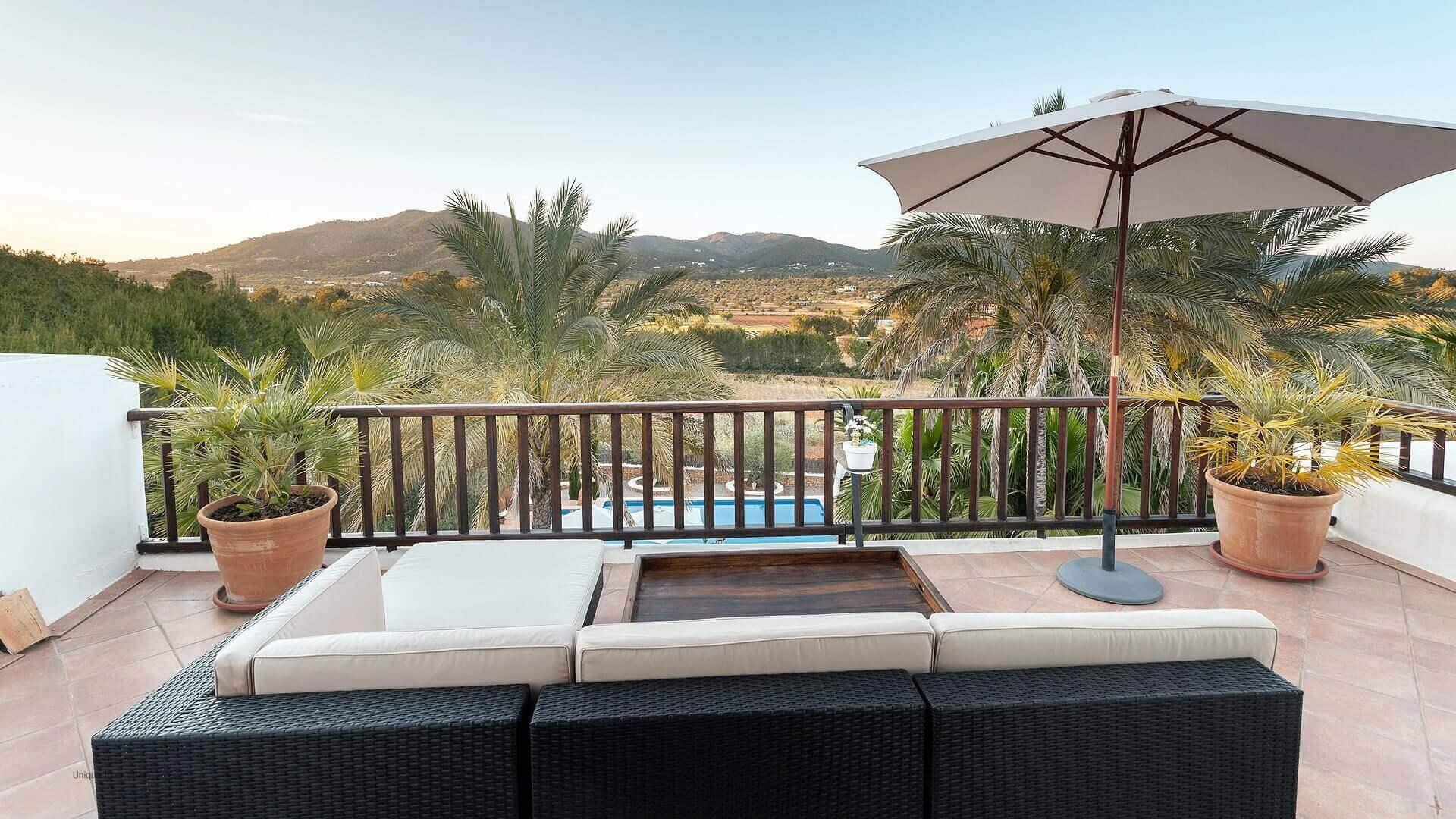 Villa San Lorenzo Ibiza 36 Bedroom 1 Terrace