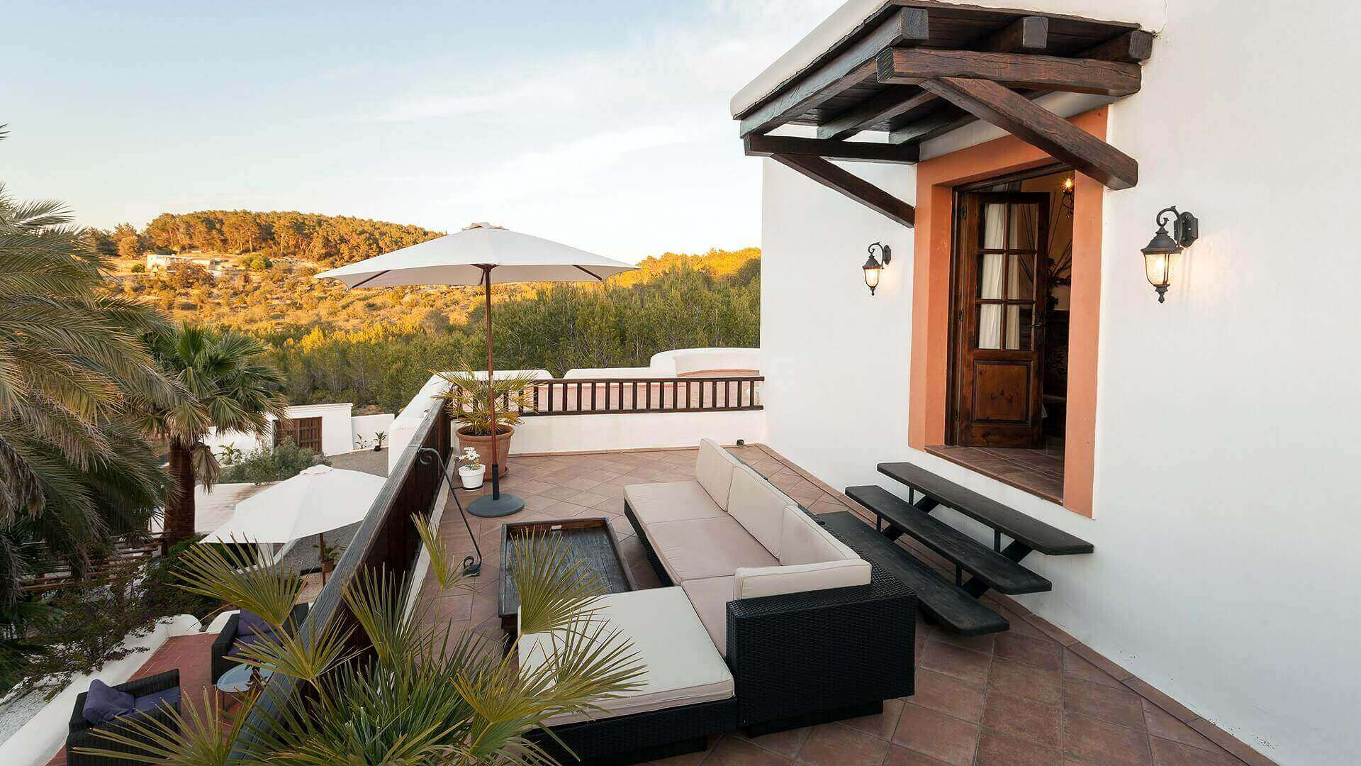 Villa San Lorenzo Ibiza 37 Bedroom 1 Terrace