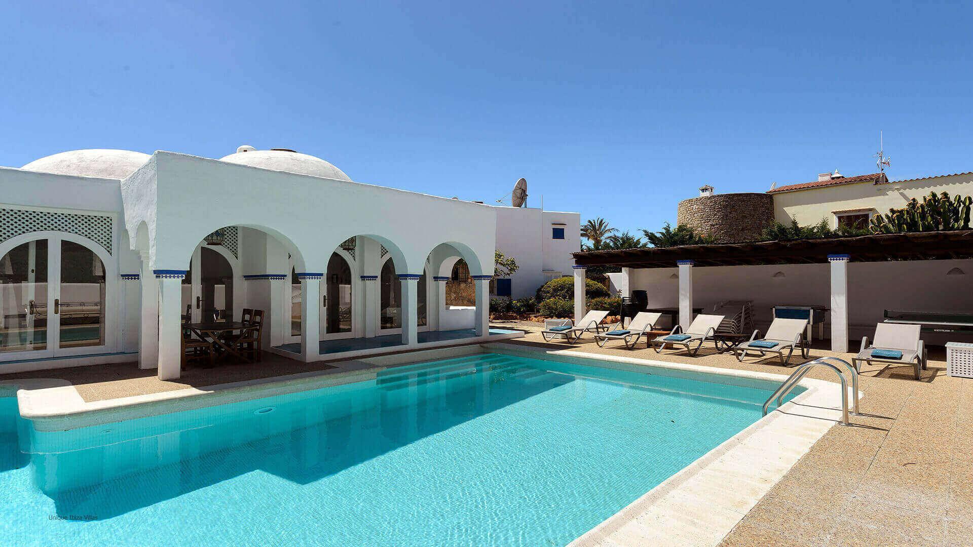 Villa Cigala Ibiza 4 Pool House