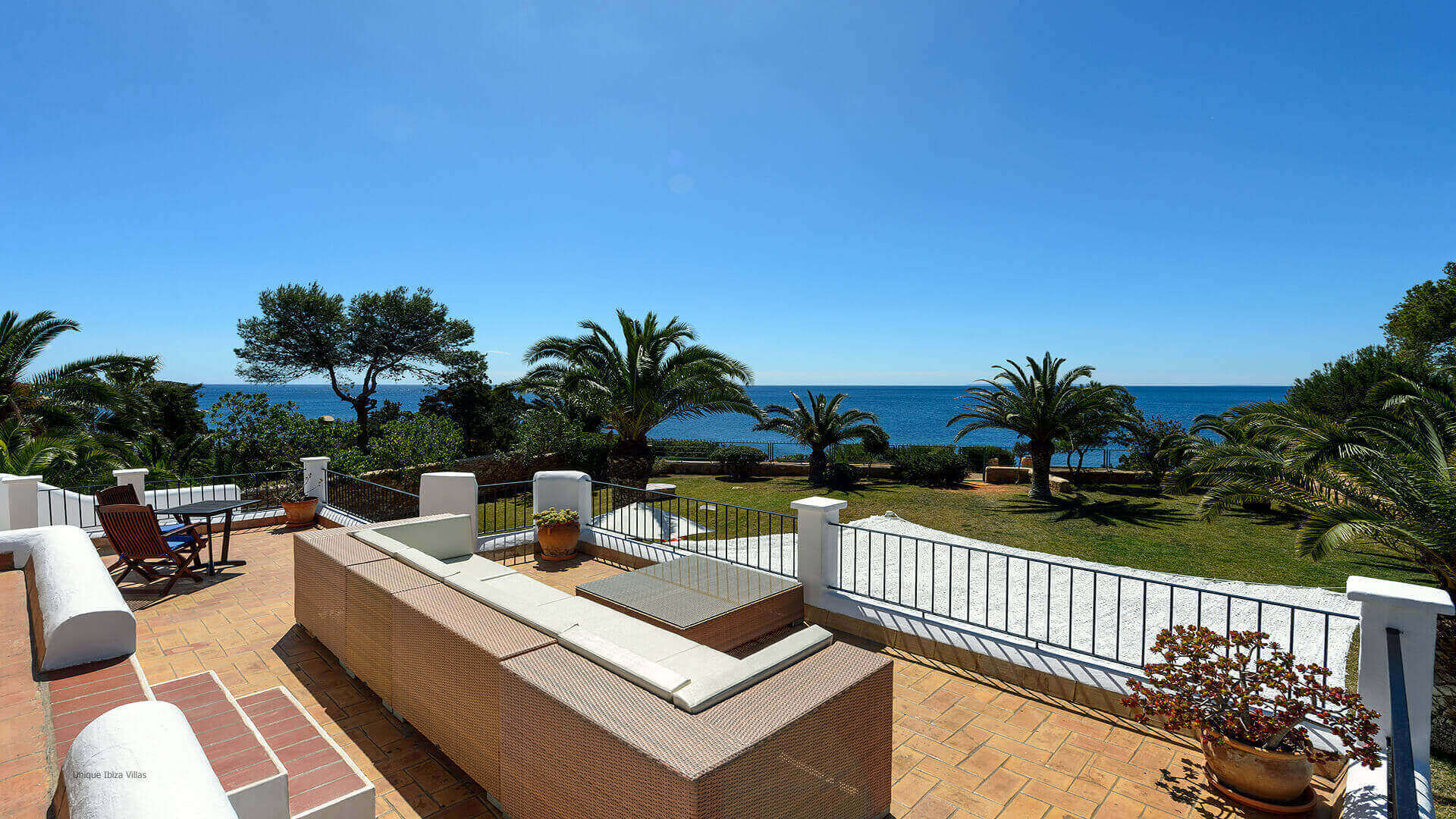 Villa Cigala Ibiza 19 Main House Terrace