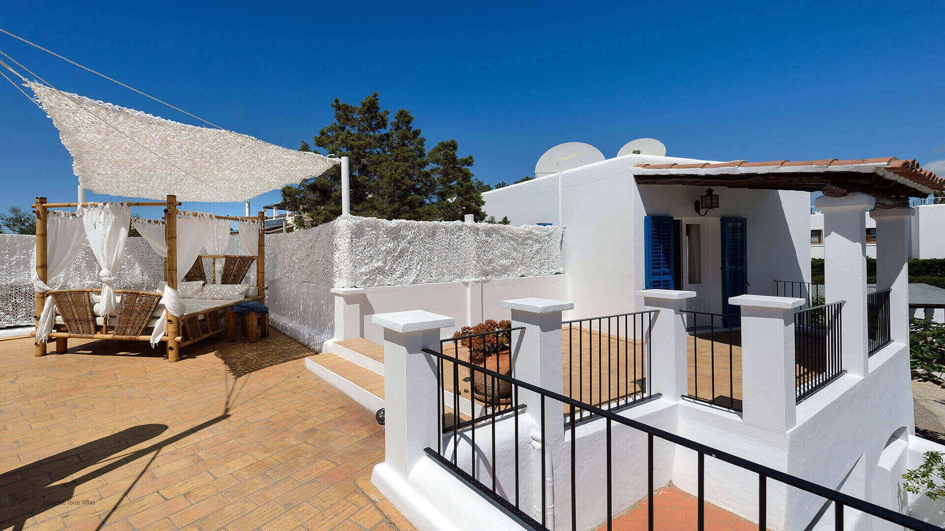 Villa Cigala Ibiza 23 Bungalow Terrace
