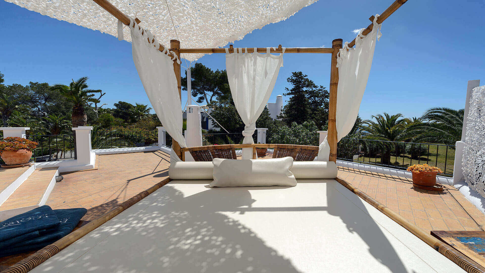 Villa Cigala Ibiza 24 Bungalow Terrace