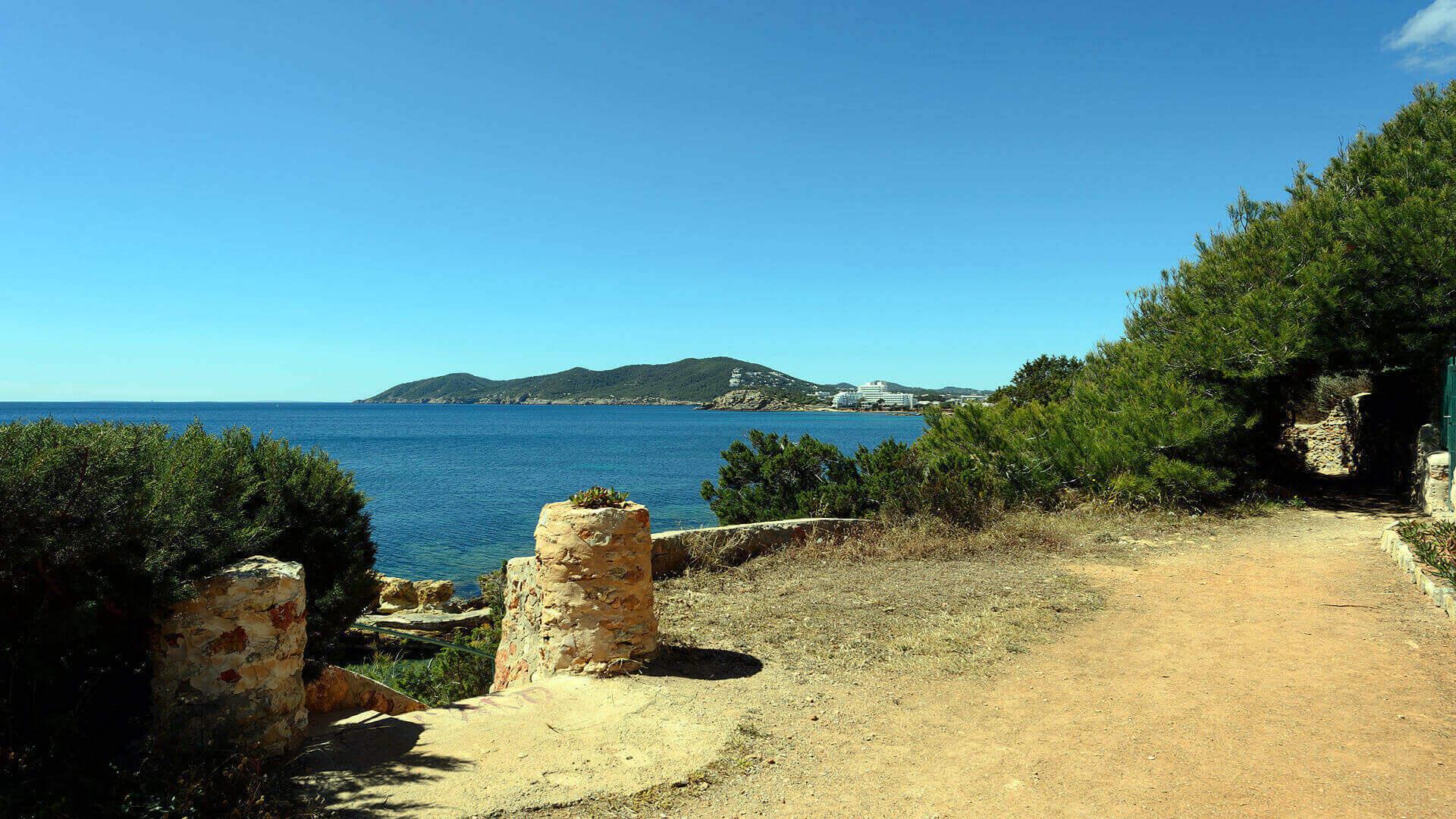Villa Cigala Ibiza 26 Path To Cala Pada Beach