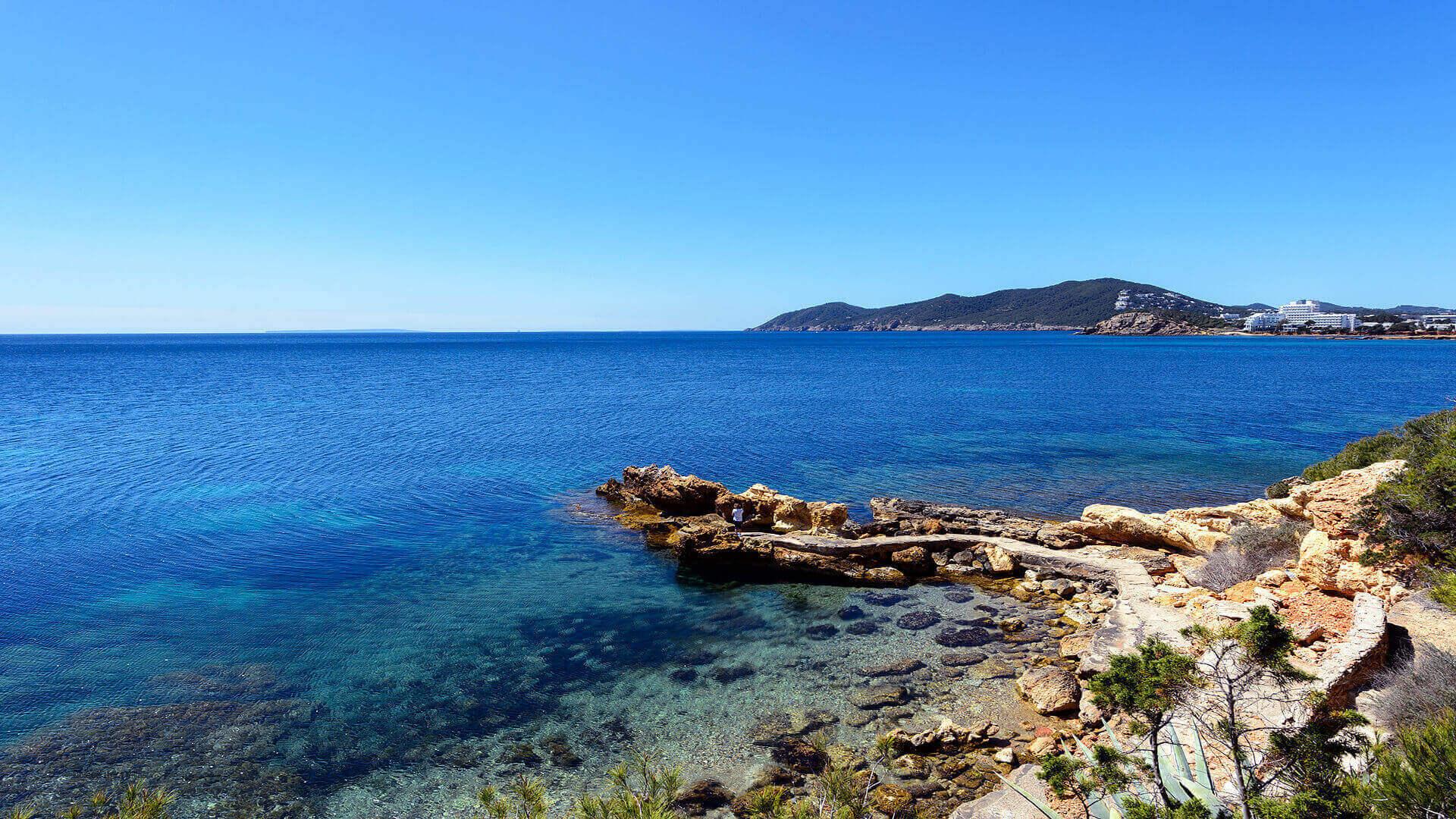 Villa Cigala Ibiza 27 Path To Cala Pada Beach