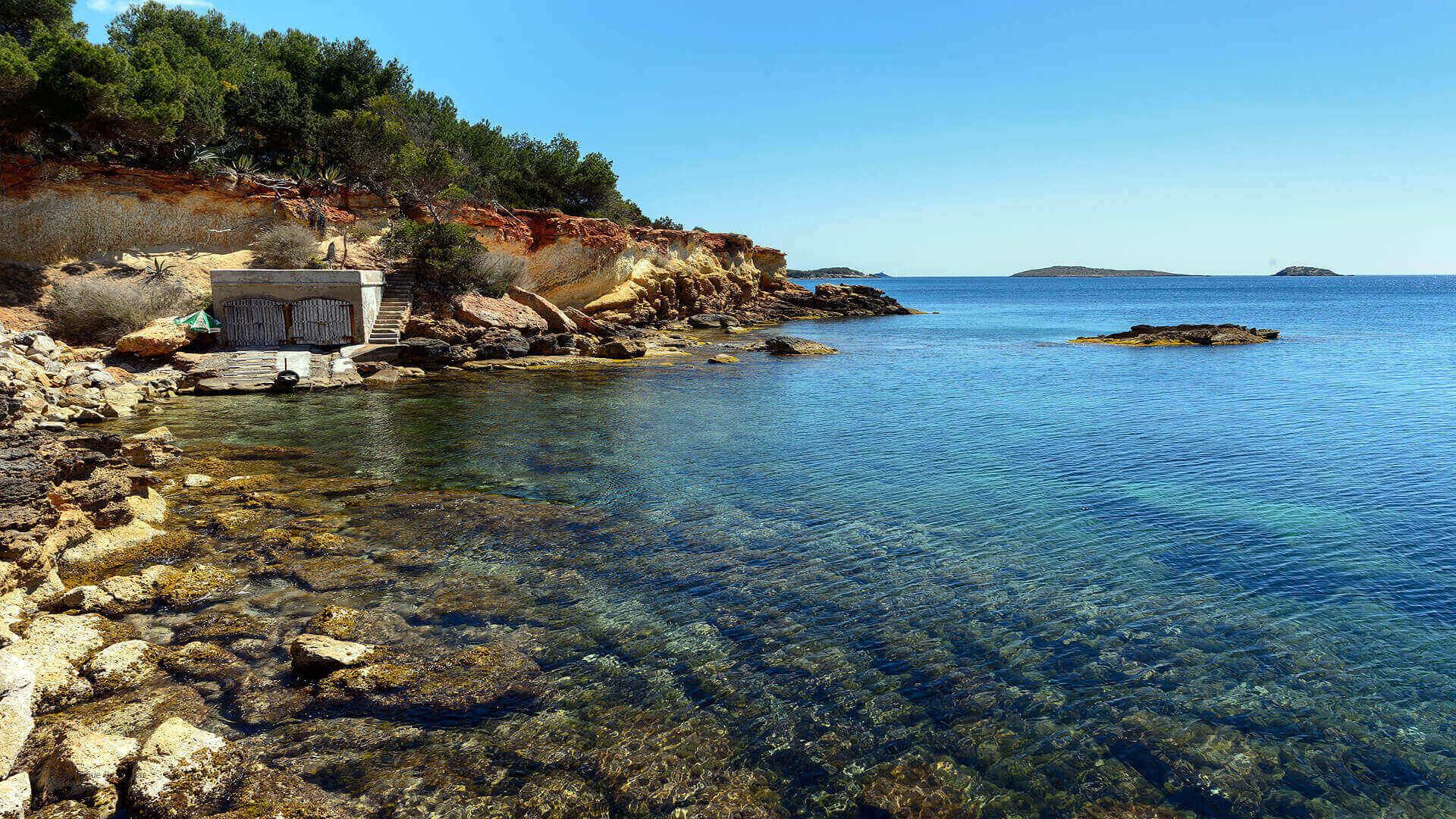 Villa Cigala Ibiza 28 Path To Cala Pada Bach