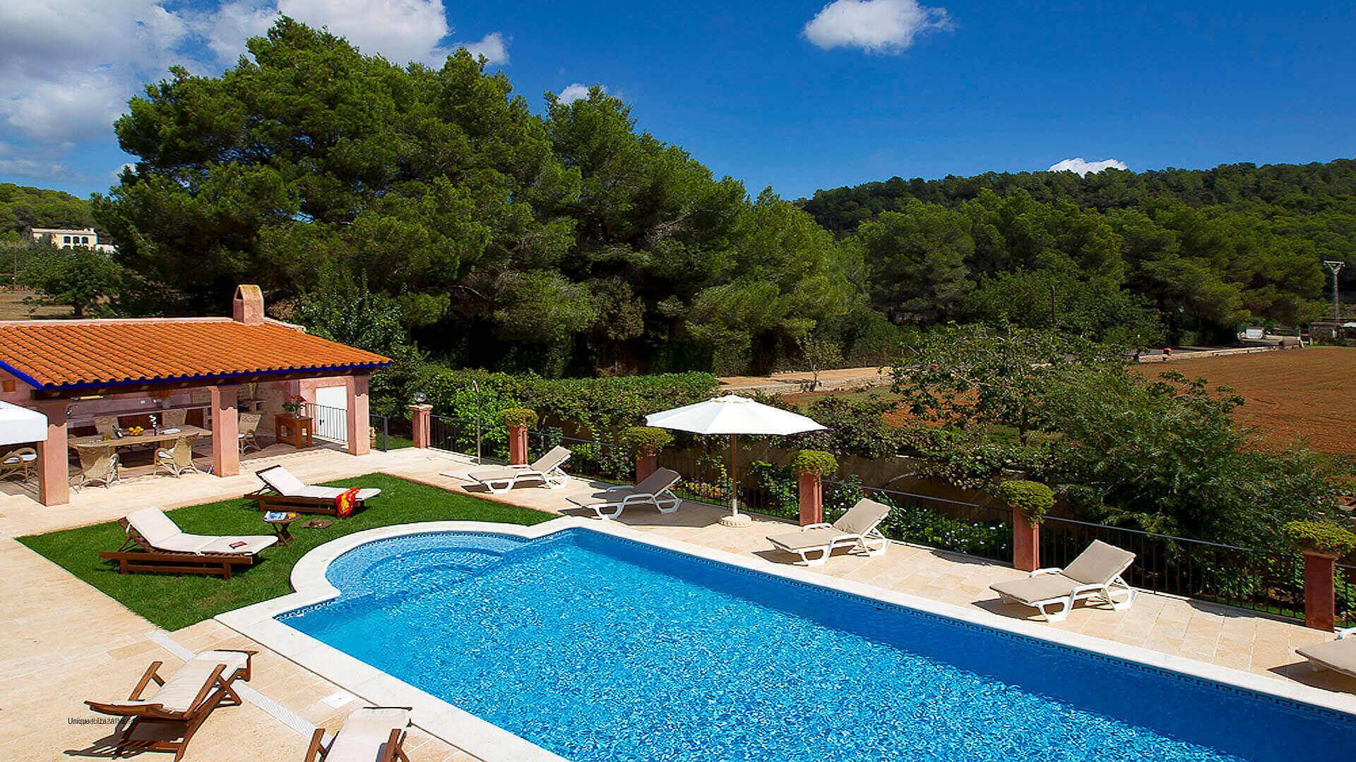 Villa El Abuelo 7 Ibiza Near Santa Eulalia
