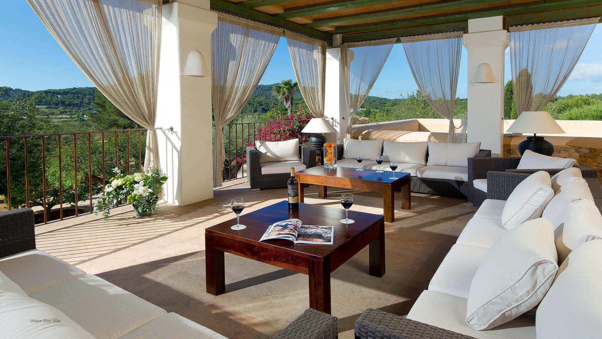 Villa Solivera Rafal Ibiza 16 First Floor Terrace
