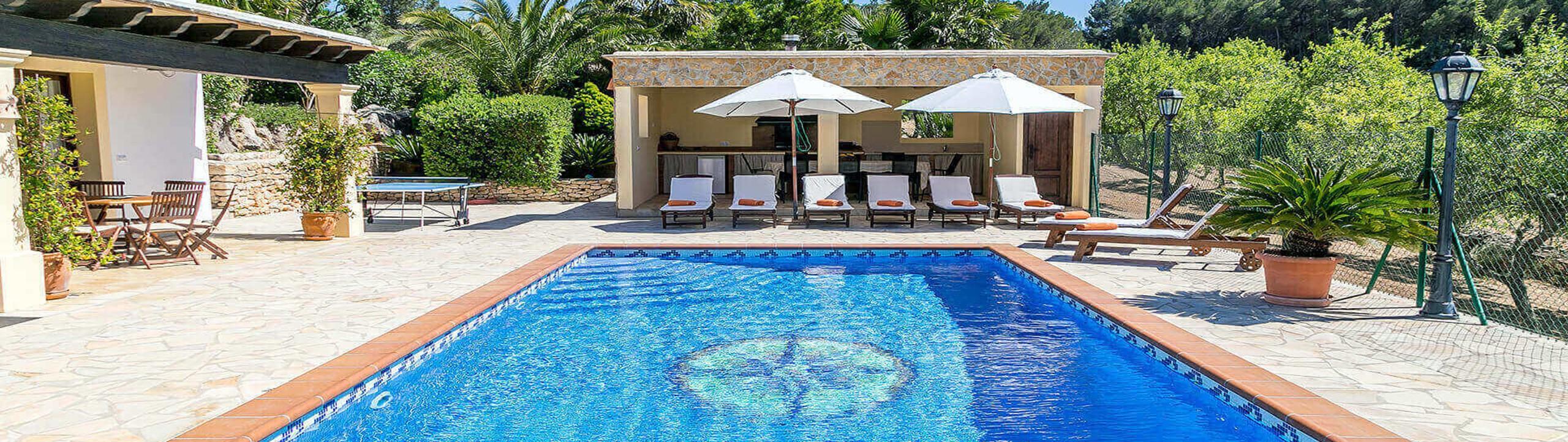 Villa Vista Monte Ibiza 1 Near San Miguel