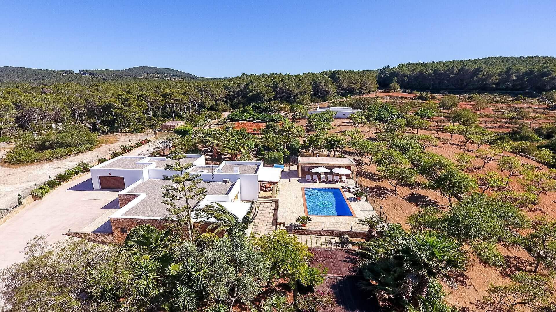 Villa Vista Monte Ibiza 10 Near San Miguel