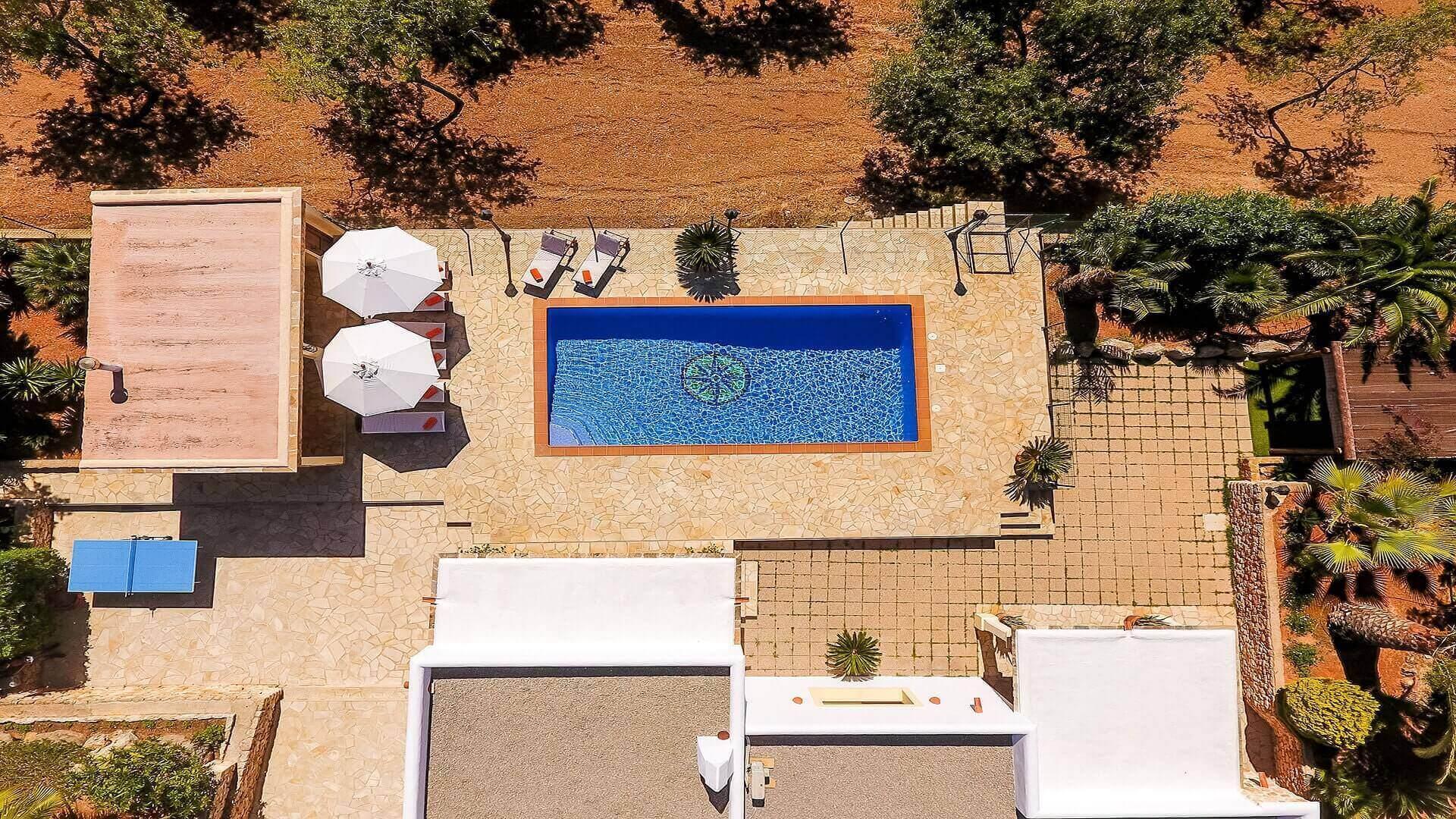 Villa Vista Monte Ibiza 11 Near San Miguel