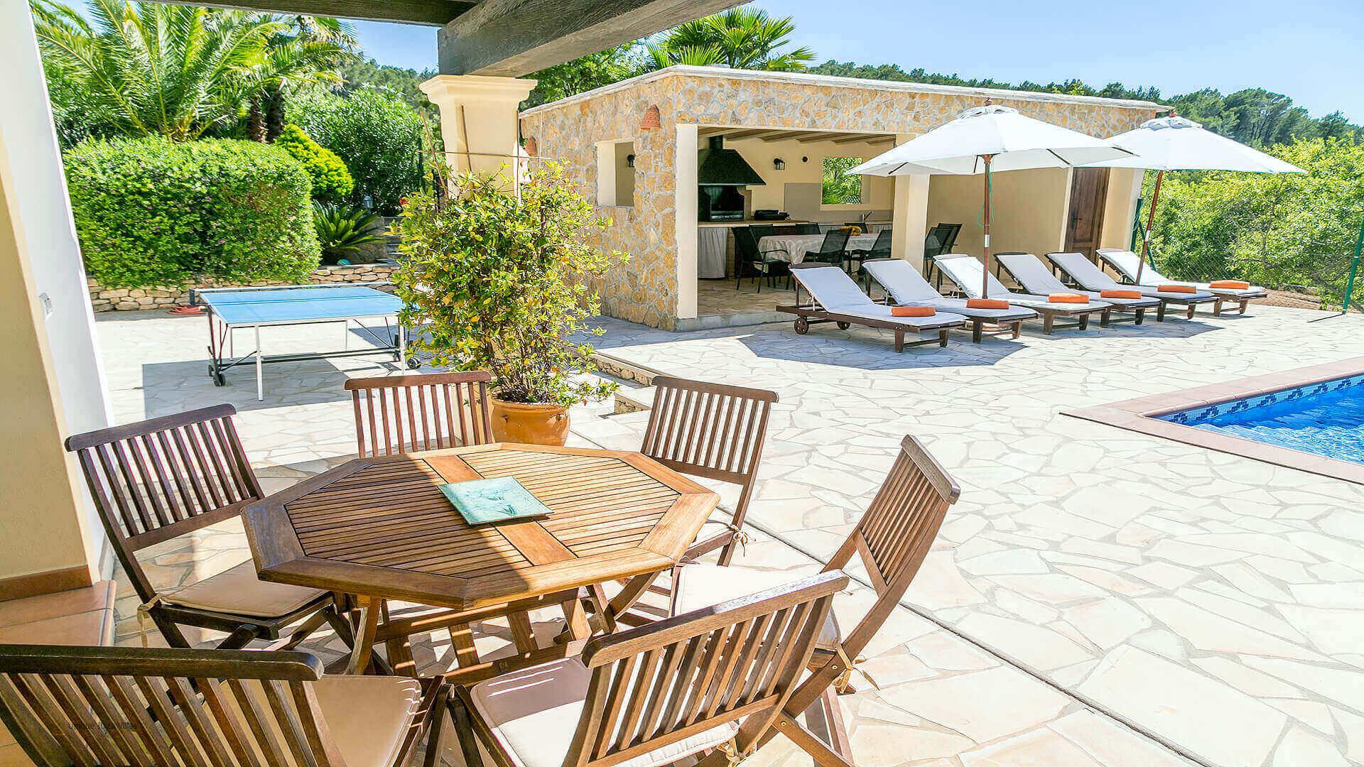 Villa Vista Monte Ibiza 15 Near San Miguel