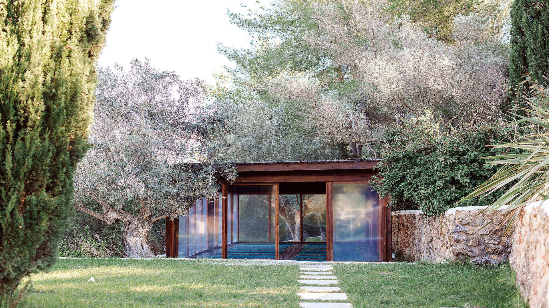 Villa La Ermita Ibiza 13 Yoga Studio