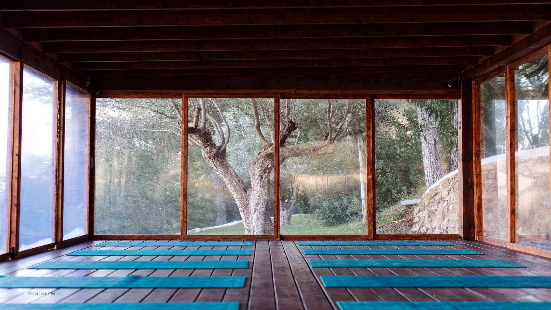Villa La Ermita Ibiza 14 Yoga Studio