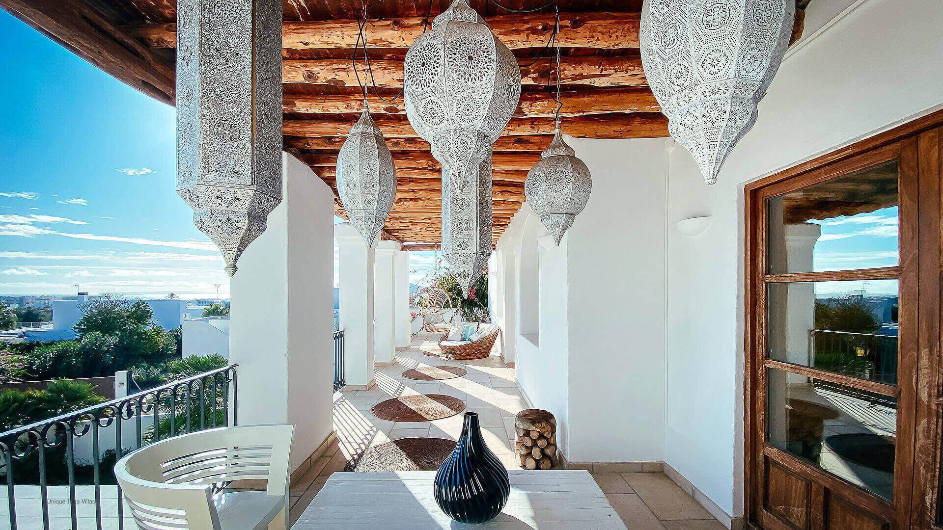 Villa El Secreto Ibiza 33 Bedroom 1 And 2 Terrace