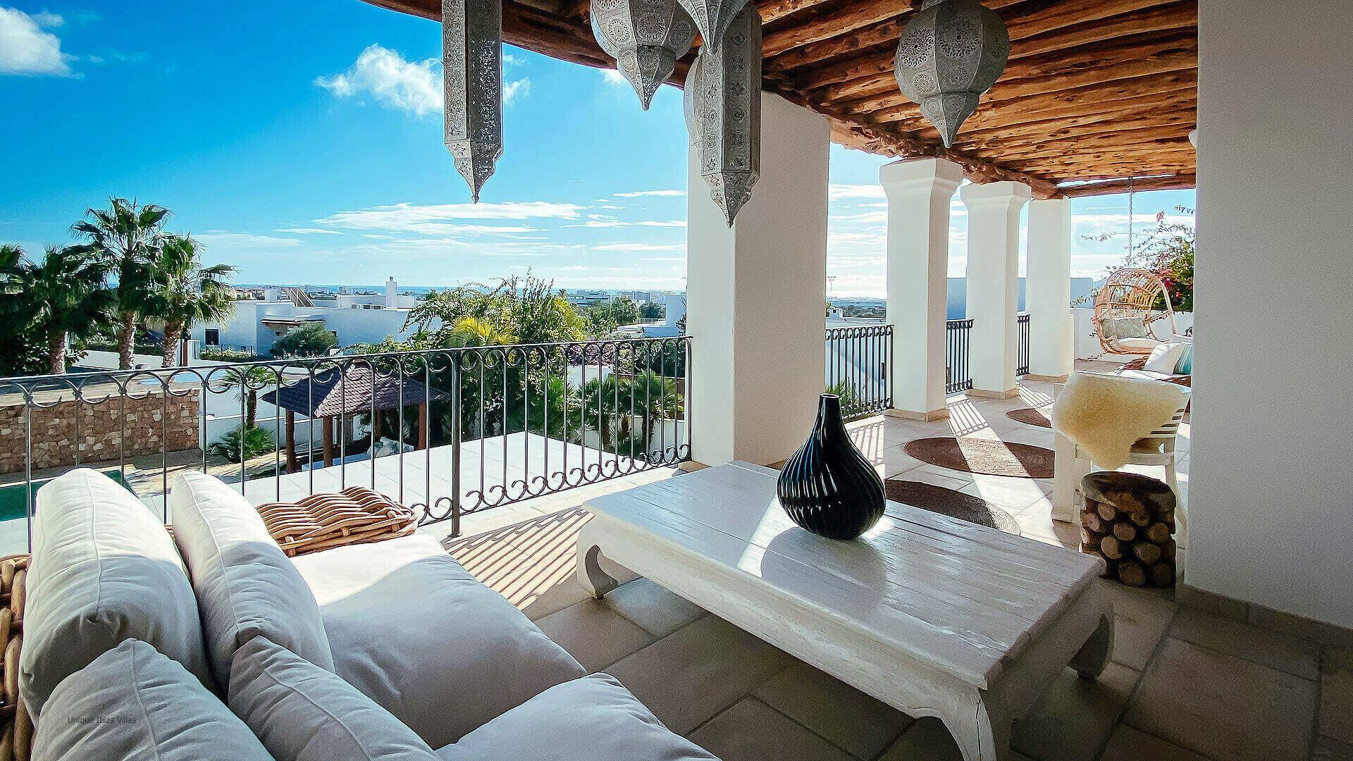 Villa El Secreto Ibiza 34 Bedroom 1 And 2 Terrace