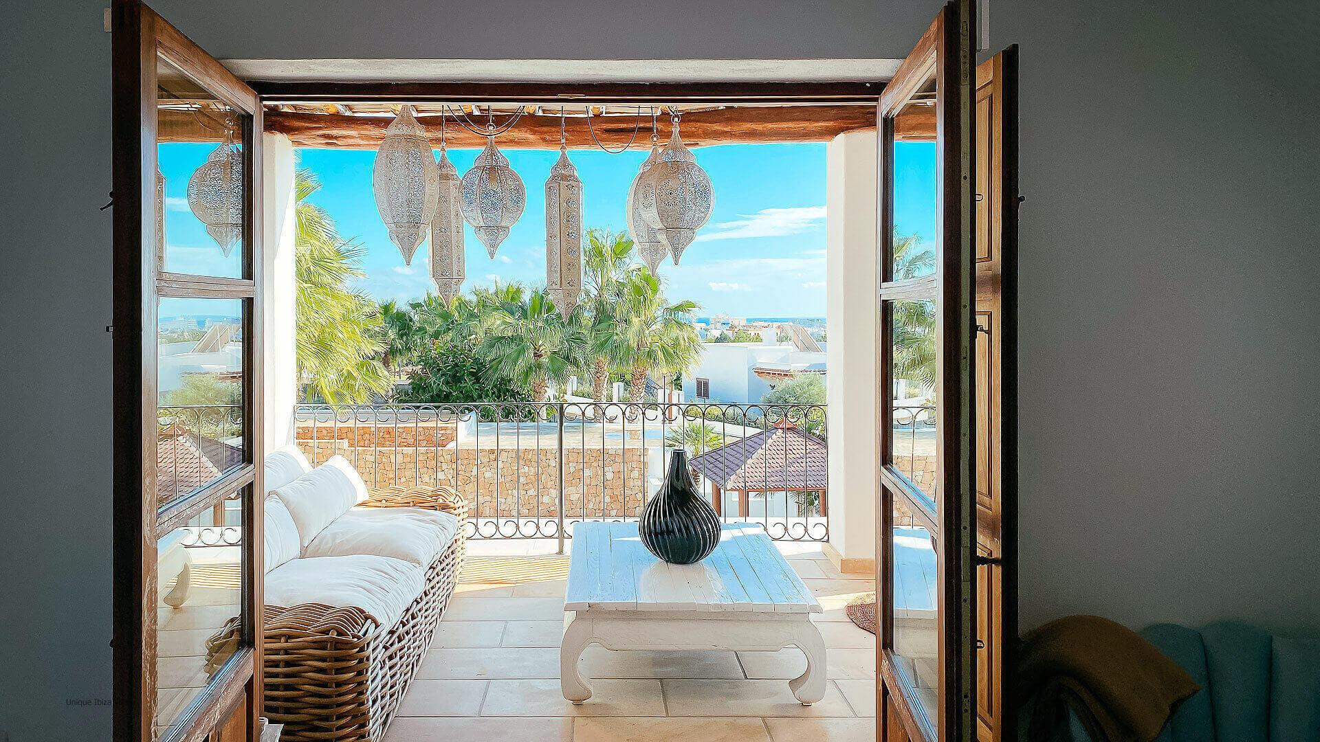 Villa El Secreto Ibiza 36 Bedroom 1 And 2 Terrace